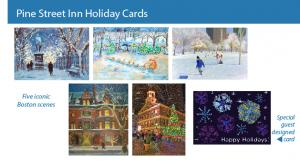 Faneuil Hall Holiday By Joann Vitali Featured In Holiday Card Set